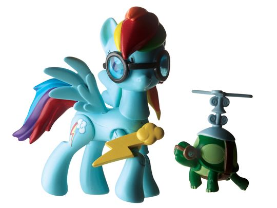 Guardians of Harmony Rainbow Dash and Tank