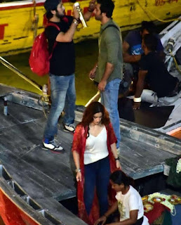 Alia Bhatt and Ranbir Kapoor's boat ride in Varanasi for Brahmastra!1.jpg