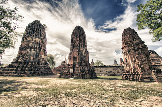 Wat Mahathat's-Ayutthaya