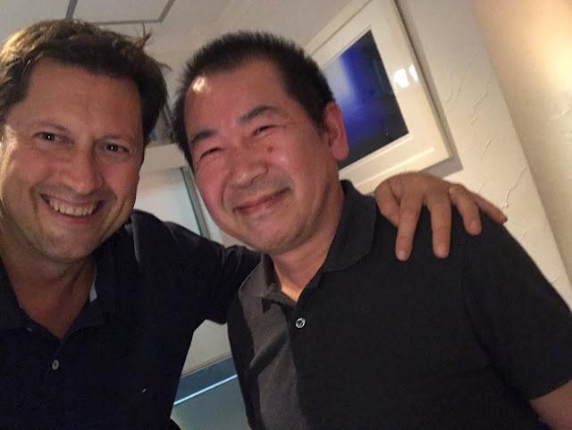 Olivier Comte with Yu Suzuki