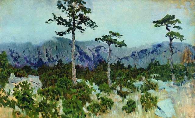 Исаак Ильич Левитан - Три сосны. 1886