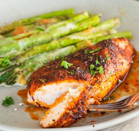 Baked Chicken Breast #dinner #weeknightmeal