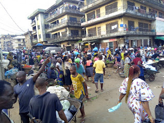 The menace of street trading in Anambra