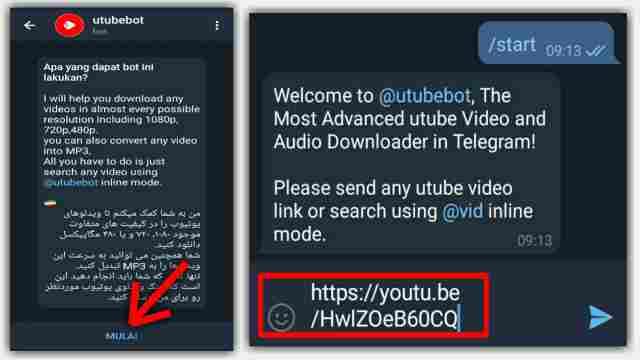 Cara Download Video YouTube Menggunakan Telegram