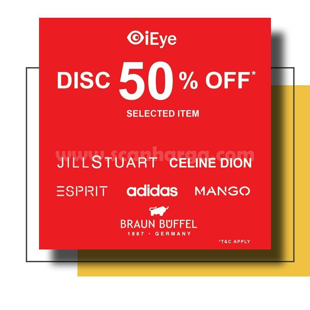 iEye Store Promo Discount 50% Off Selected Item