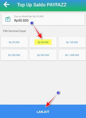 Cara Isi Saldo Payfazz Lewat Virtual Account