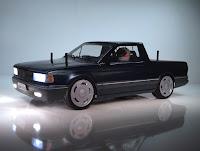 Bolha VW Saveiro 180mm  Escala 1/10