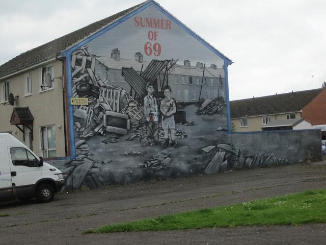 Belfast polítical mural