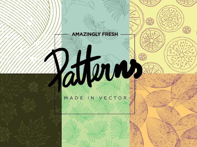 downloads amazingly fresh vector patterns