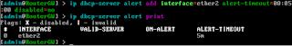 Konfigurasi DHCP Alert