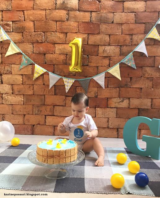 fotos de bebê com bolo