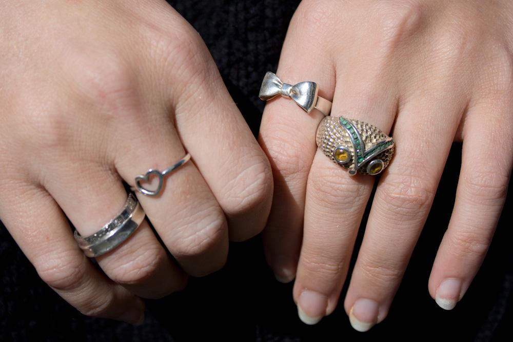 f2c5239b5f8 Karen Walker Daisy Ring Silver.FOUREYES New Zealand Street Style ...