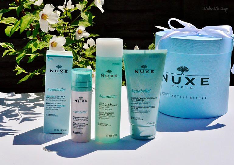 NUXE Aquabella - rytuał pielęgnacyjny dla cery mieszanej recenzja