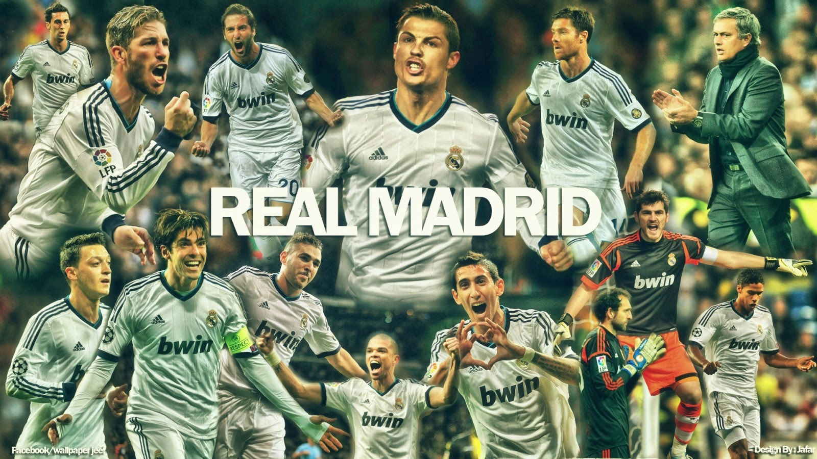 Real Madrid FC New HD Wallpapers