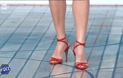 Mia Ceran scarpe Rosse tacchi alti