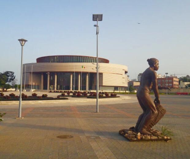 Tourisme, Musée, Civilisations, Noires, architecture, case, ronde, oeuvre, art, masque, visite, LEUKSENEGAL, Dakar, Sénégal, Afrique