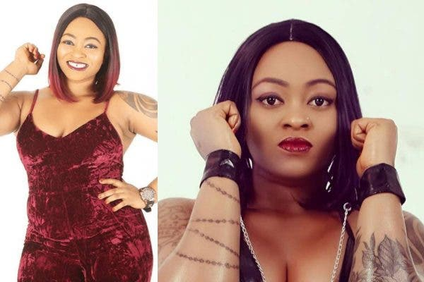 Nigerian porn star Ugly Galz reacts after a man said he sees her private part for free (Video)