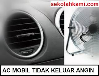 ac mobil tidak keluar angin