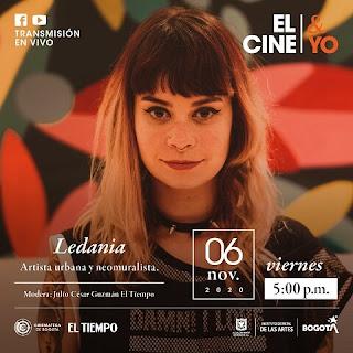 POS LEDANIA en El Cine y Yo de Noviembre