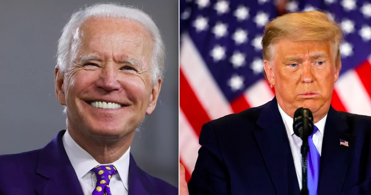 Biden Is Elected President But Trump Refuses To Recognise The Result Promising Legal Challenges