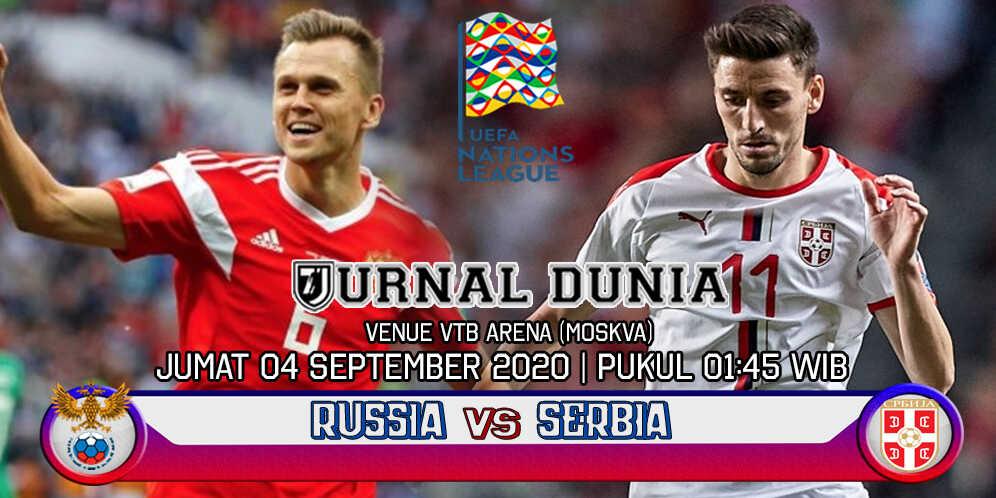 Prediksi Rusia Vs Serbia 04 September 2020 Pukul 01.45 WIB