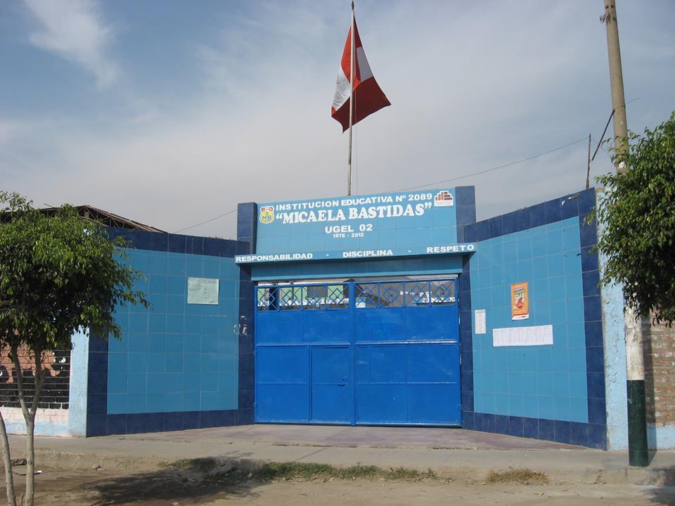 CEBA 2089 MICAELA BASTIDAS - Los Olivos