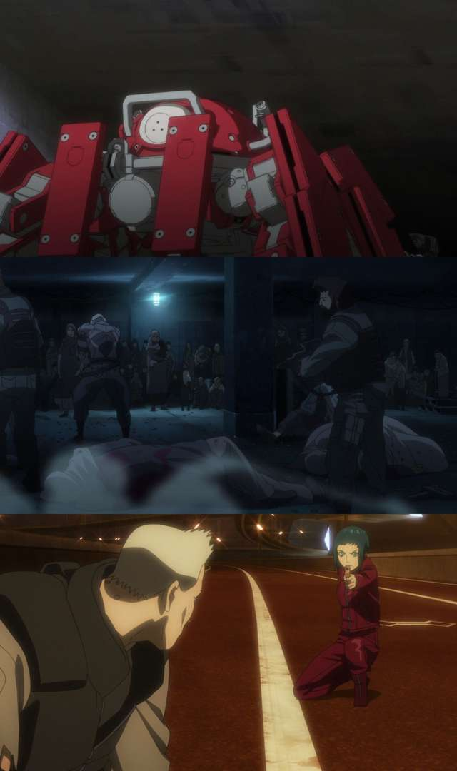Ghost in the Shell Arise: Border:2 Ghost Whispers (2013) HD 1080p Subtitulado