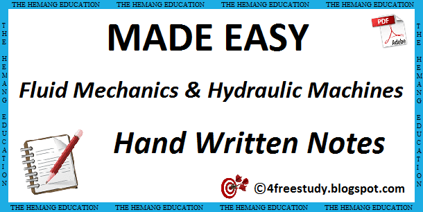 Fluid Mechanics Hydraulic Machines Pdf