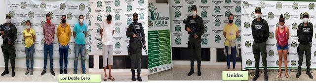 hoyennoticia.com, Desmanteladas bandas de extorsionistas en Valledupar y sur del Cesar