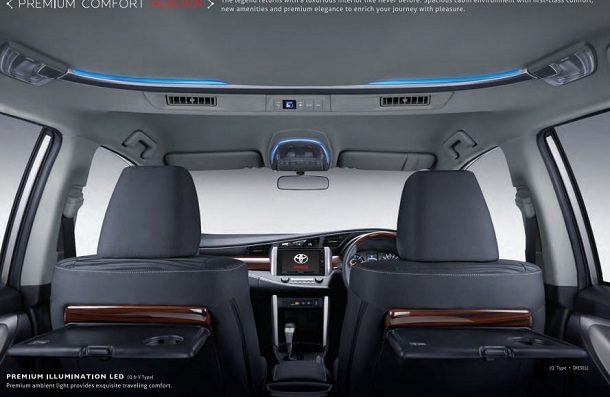 all new kijang innova type q toyota vellfire 2018 interior baru tipe g, v, ...