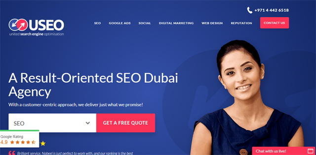 United SEO - Digital Marketing Agency in Dubai
