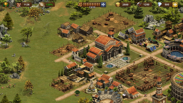 أفضل لعبة بناء المدن للايفون