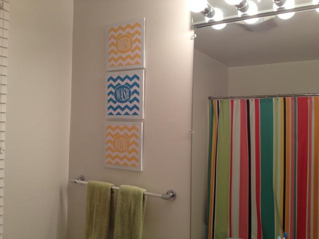 Two It Yourself DIY KidsGuest bathroom wall decor Free