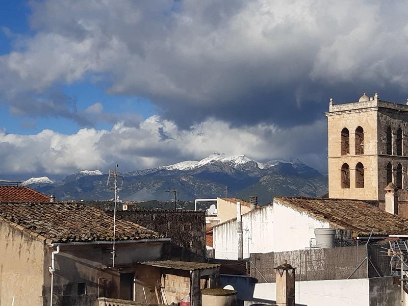 5 gennaio 2021, neve a Maiorca