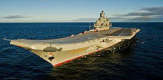 حاملة طائرات الروسية