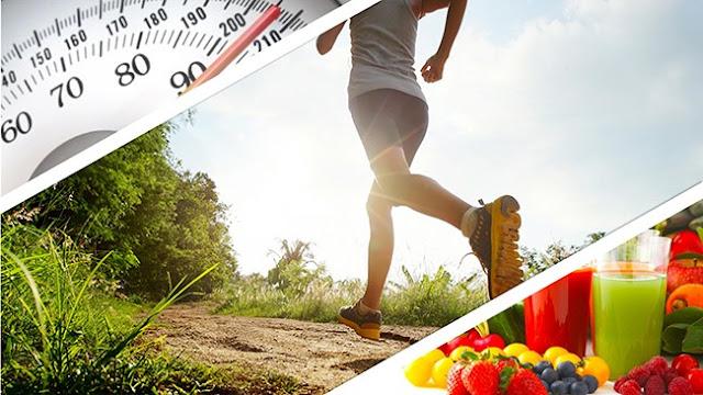 adelgazar con ejercicios y dieta saludable