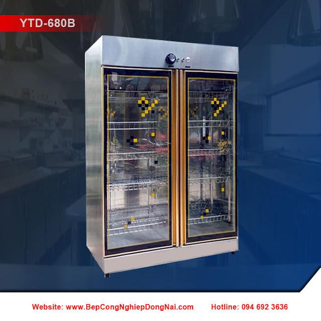 Tủ sấy bát 2 cánh kính YTD-680B