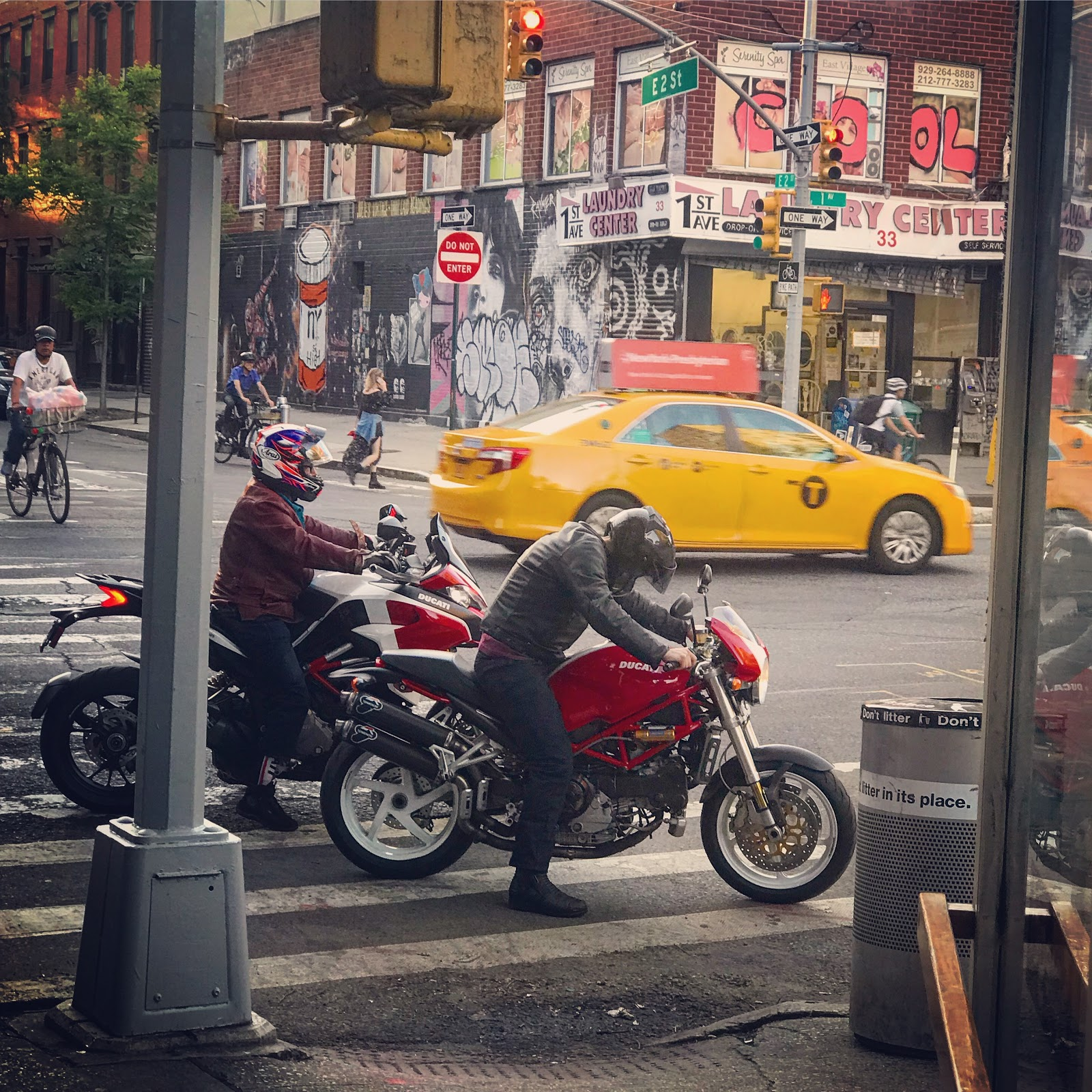 TwoWheelTuesday Bike Night in Manhattan at Spiegel