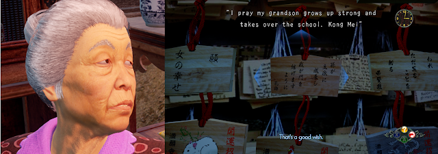 """I pray my grandson grows up strong and takes over the school. - Kong Mei"""