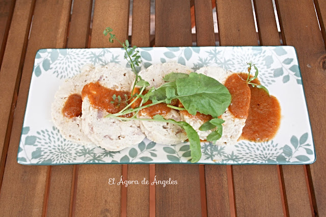 iambre de pollo con salsa inesperada  El Ágora de Ángeles