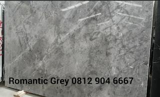 Jual marmer Romantic Grey harga marmer import murah