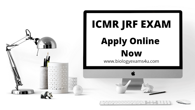 ICMR JRF 2020 Notification - Apply Online
