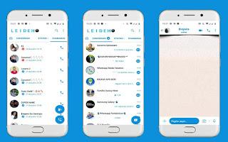 IOS Theme For YOWhatsApp & Fouad WhatsApp By Leidiane