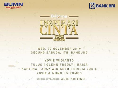 Konser Inspirasi Cinta di Sabuga Bandung