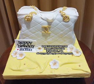Kue Tart Bentuk Tas Channel Untuk Istri