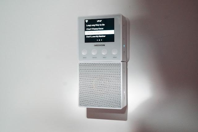 Eine flexible und gute Idee von Medion - Das Steckdosen Online Radio