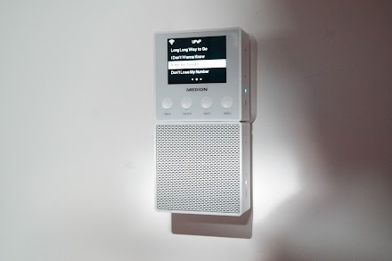 Das Steckdosen Internetradio MEDION® E85032 im Atomlabor-Test