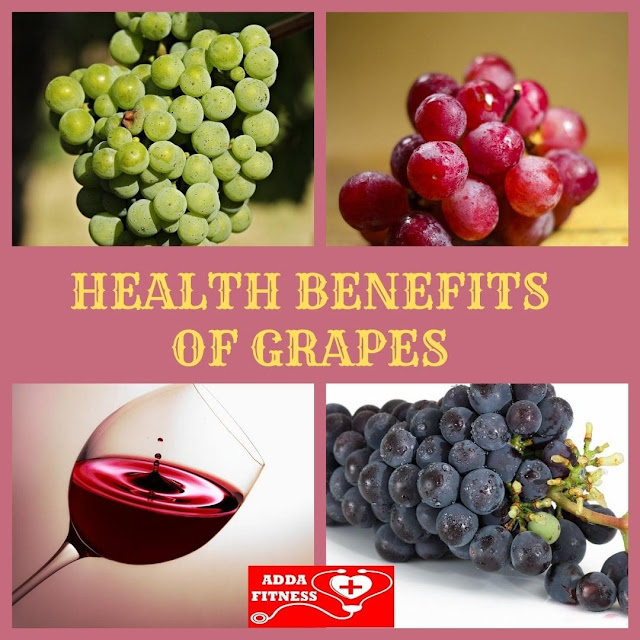 Health Benefits of Grapes, Grape Seed Extract and Wine