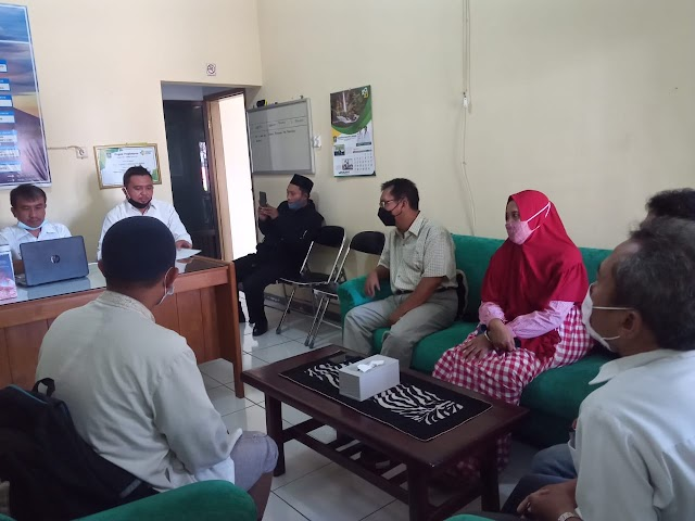 MI Kota Bayar DP Lahan yang Akan Digunakan untuk Pengembangan Madrasah