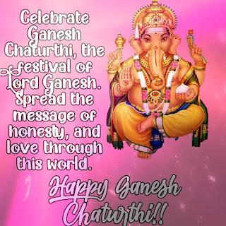 happy ganesh chaturthi images in english